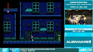 Castlevania II: Simon's Quest by Jaguar_King in 50:01 - Summer Games Done Quick 2015 - Part 105