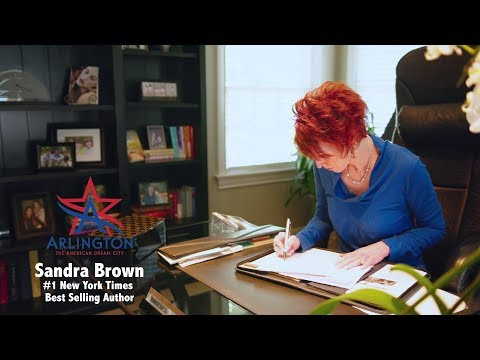 American Dream Story of #1 New York Times Bestselling Author Sandra Brown