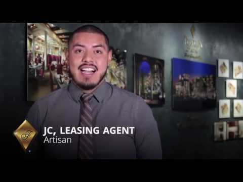 JC tells you about his leasing agent job for Artisan Apartments