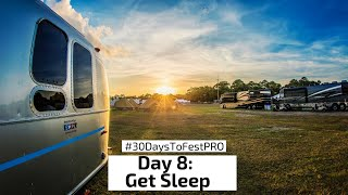 Festival Tip 8: Get Sleep