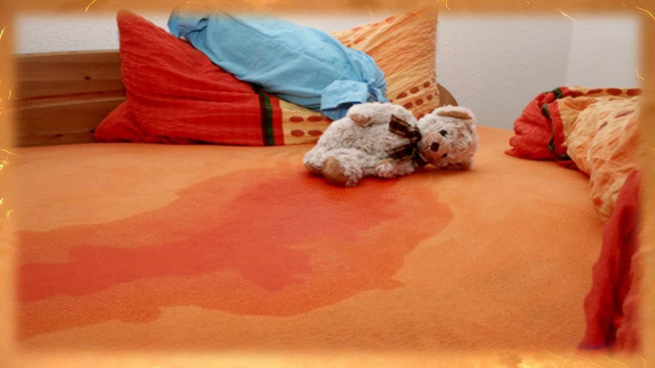 Resultado de imagen para niños orinan cama
