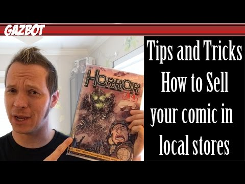 Tips and Tricks to get your independent or self published comic book into local stores