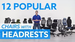 12 Popular Ergonomic Office Chairs With Headrests