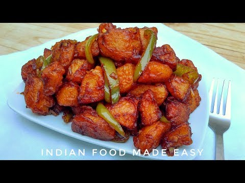 Aloo Manchurian – Recipe in Hindi – by Indian Food Made Easy – Potato Snacks Recipes
