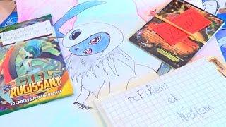 [POKÉPOSTE #27] Dessin ABSOL ! Booster & Cartes Pokémon ULTRA-RARES ! Viva les abonnés ❤
