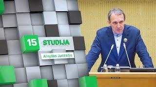 15min studijoje – prezidento posto siekiantis Arvydas Juozaitis