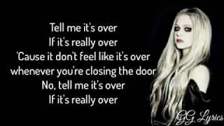 Lyrics TELL ME ITS OVER - AVRIL LAVIGNE