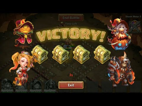 4 Heroes Vs Mesa 3 L Castle Clash
