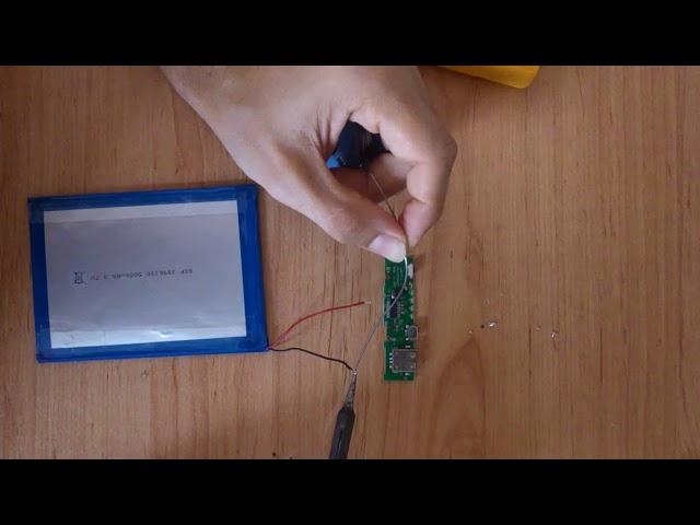 Como hacer una batería externa o powerbank material reciclado de tablet - How to make diy