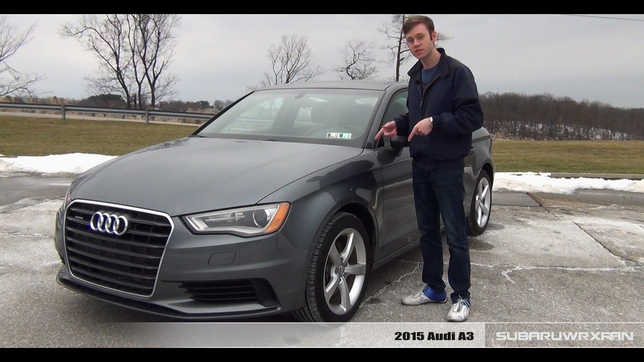 review 2015 audi a3 2 0t youtube. Black Bedroom Furniture Sets. Home Design Ideas