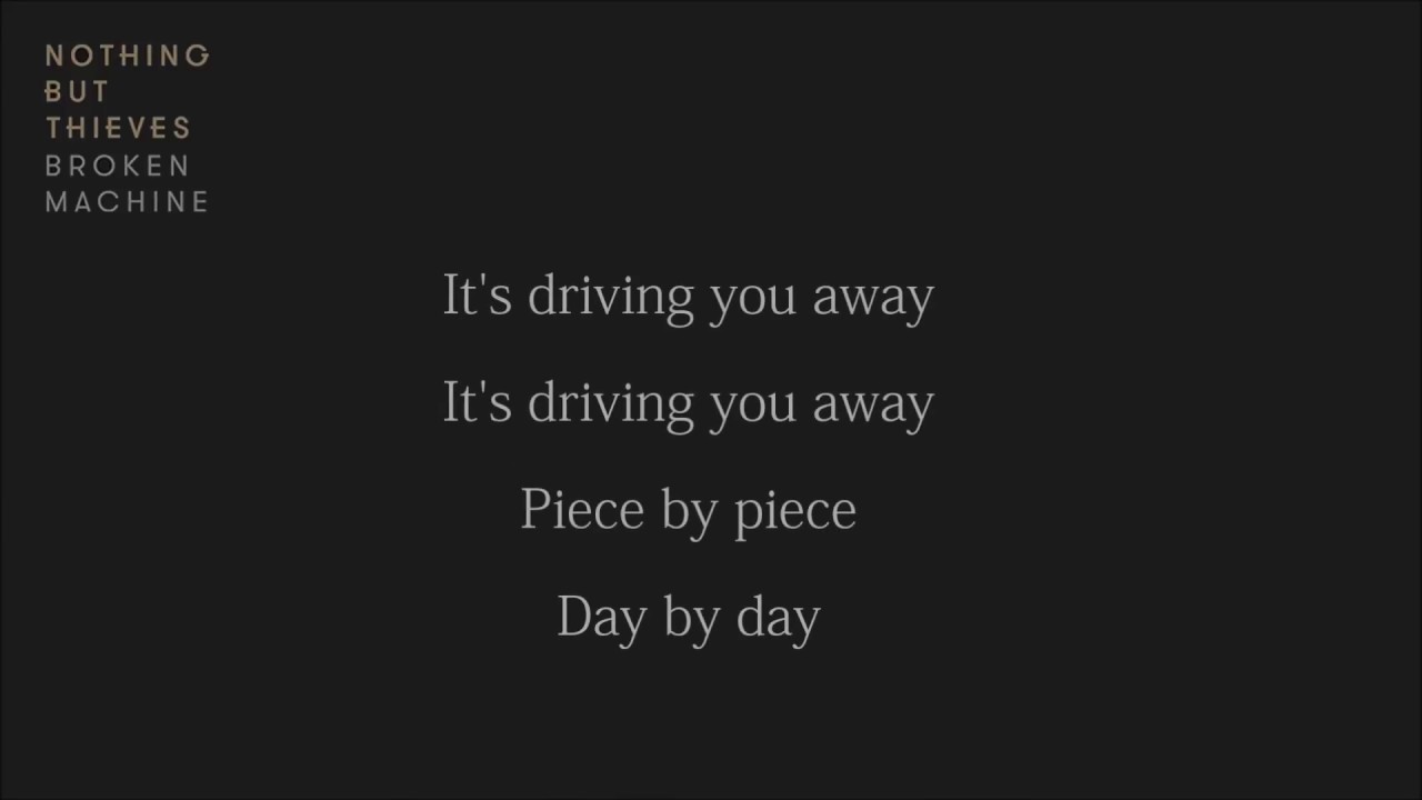nothing but thieves particles lyrics youtube