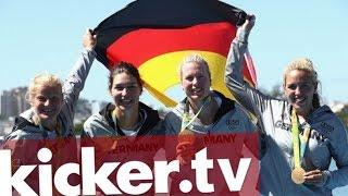 Goldregen am 6. Wettkampftag - kicker.tv OLYMPIA 2016