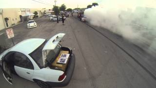 Vh45de 300zx z32 trailer burnout