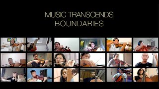 Home-Made Virtual Orchestra - Music Transcends Boundaries 1.0: Nimrod from Enigma Variations, Elgar