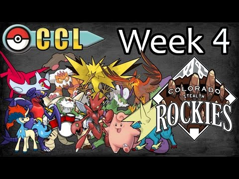 [Live] CCL Week 4: Colorado Stealth Rockies vs Detroit Luxray