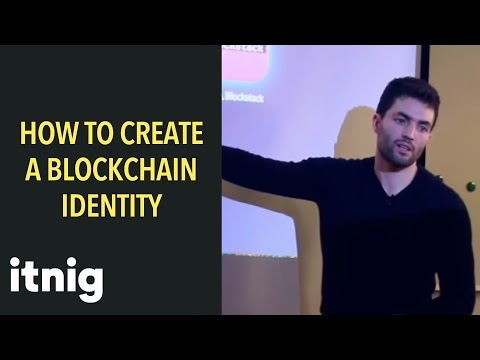 How to create a blockchain identity with bitcoin (and etherum)