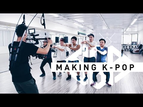 BgA - Making a K-Pop Video (Dance Rehearsal)