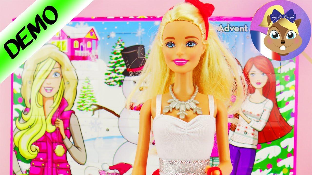 Calendrier Avent Barbie.Calendrier De L Avent Barbie Nous Ouvrons Les 24 Portes Avec De Super Tenues Et Accessoires