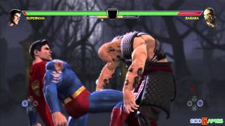 Mortal Kombat vs. DC Universe Gameplay PS3 HD (GodGames Preview)