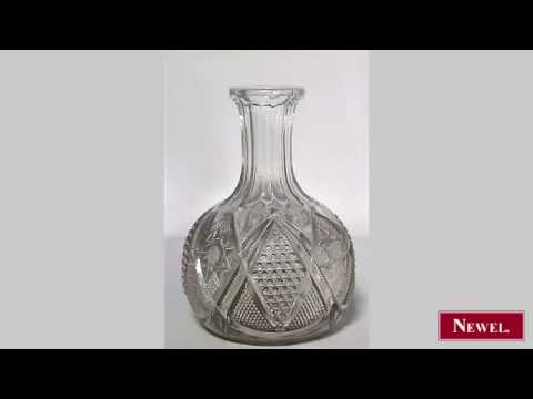 Antique American Victorian style (20th Cent) pressed glass
