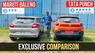 Download Tata Punch Vs Maruti Baleno - Micro-SUV vs Premium Hatchback