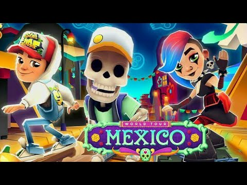 💀 Subway Surfers Mexico (Halloween 2017) 👻