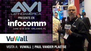 Visita a Vuwall durante  InfoComm Orlando 2019