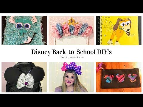 disney-back-to-school-diys-📚✂️🖍📝-|-simple,-cheap,-&-fun!!!