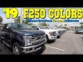 New 2019 Ford F250 Exterior Colors | XLT, FX4, KING RANCH & More!!! ( Review ) CharlestonTruckVideos