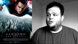 Man of Steel (2013) movie review rambling spoilers superman comic book