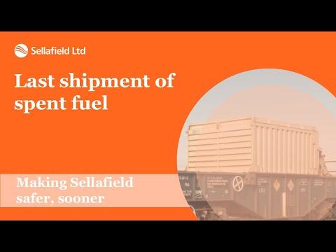 Last Shipment Of Spent Fuel