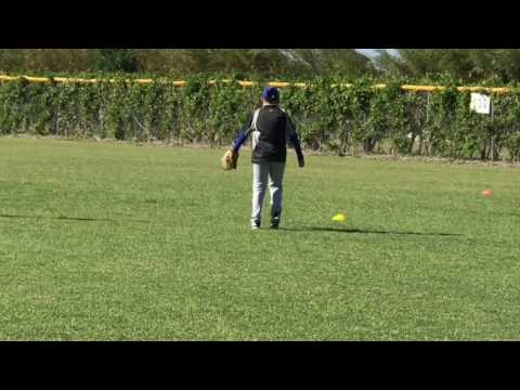 Baseball Drills - fielding and batting