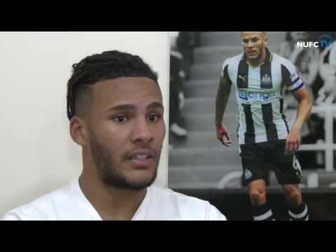Jamaal Lascelles and Rafa Benitez look ahead to Newcastle's game at Derby County