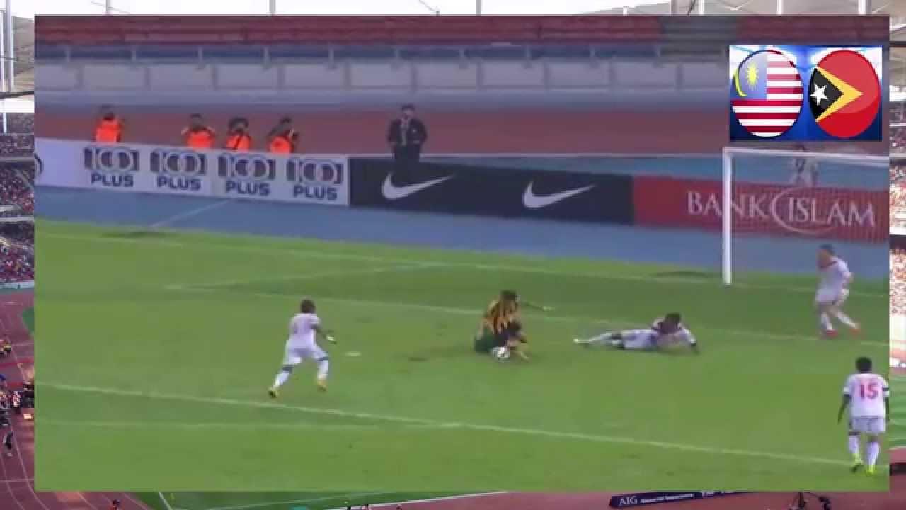 Malaysia Vs Timor Leste 1 1 World Cup Afc