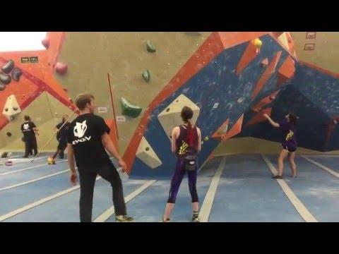 Helen 2016 Bouldering Divisionals Final #2