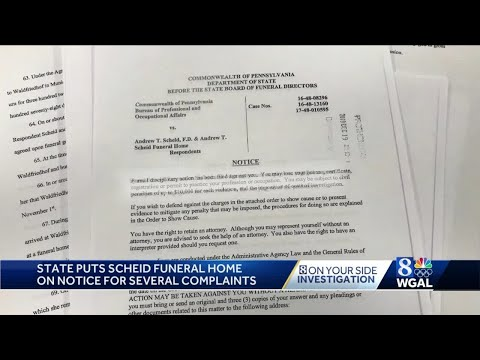 Andi and Kenny  - Local Funeral Home Accused Of Misconduct