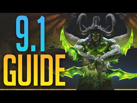 HAVOC DH   HUGE CHANGES! Guide For Patch 9.1   NEW WEAPONS,  Covenants, Talents, Legendaries