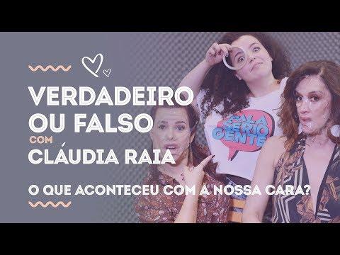 Claudia Raia revela ter tido 'primeira vez' com o namorado da irmã