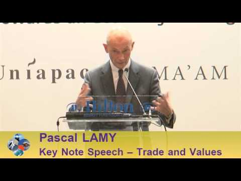 Beirut Conference 2013 - Pascal LAMY: Trade and Values
