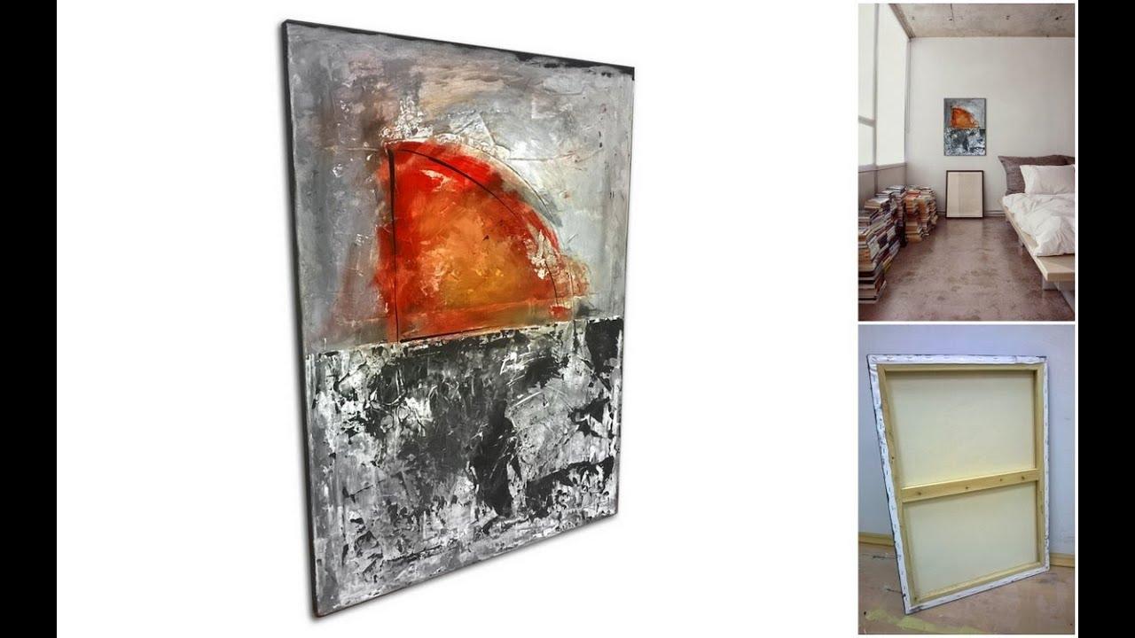 Slike Za Spavaće Sobe U Ponudi Galerije Mag Apstraktna Slika Djelić Sunca Akril Na Platnu 70x50 Cm