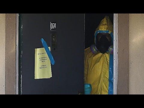 'Europe's first Ebola contamination': Spanish nurse is infected
