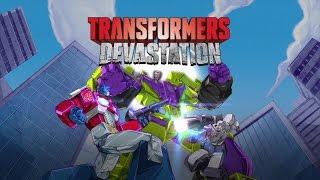 [PS4] TRANSFORMERS: Devastation - Gameplay BTS ViDoc [1080p HD]