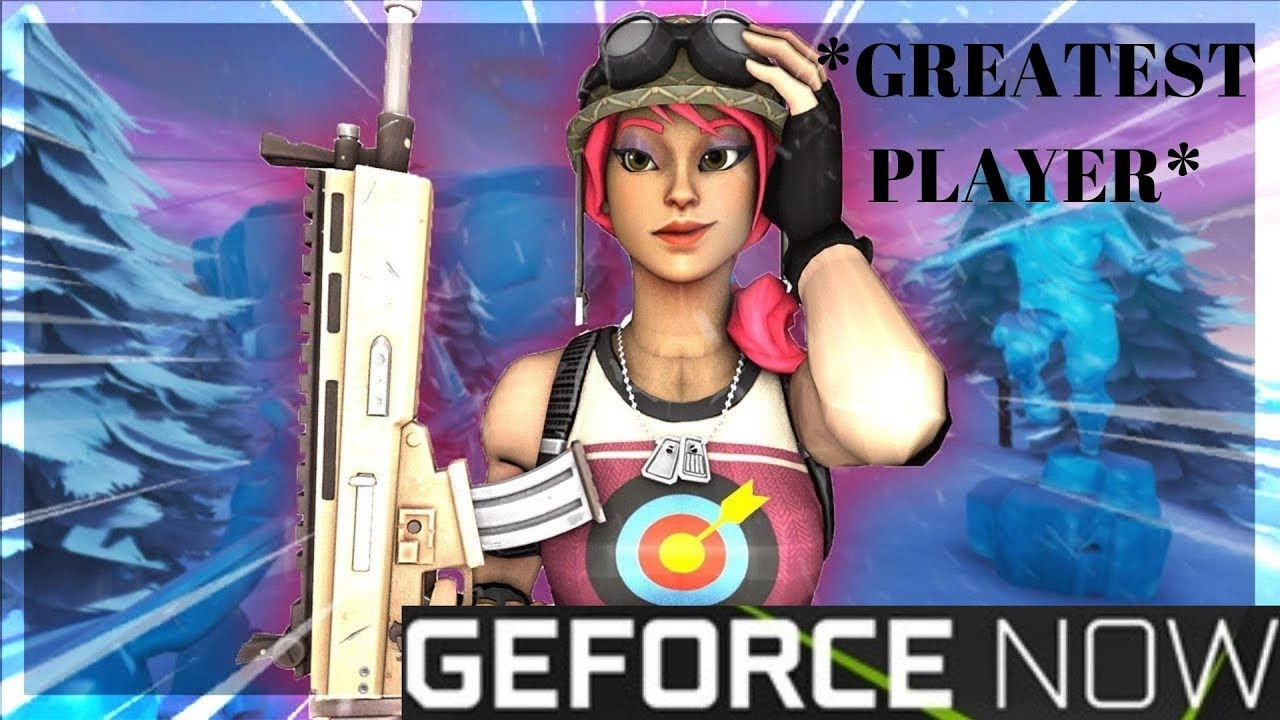 The *GREATEST* Fortnite Player To Use *GEFORCE NOW* #KNGRC #KNGPRAV