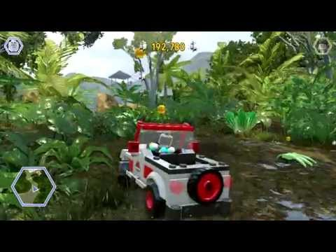 LEGO Jurassic World - Isla Nublar Free Roam (Jurassic Park Area)