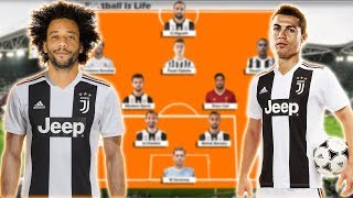 Juventus Potential Lineup 2018/2019 With Cristiano Ronaldo , Marcelo , Emre Can