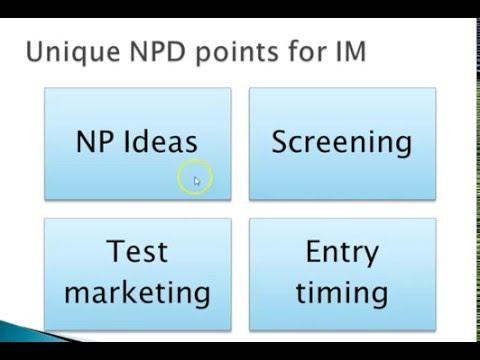 New product development: International Marketing issue