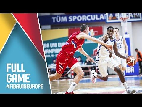 France v Serbia - Live - FIBA U18 European Championship 2016