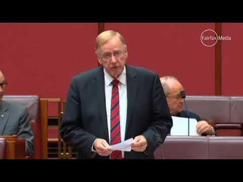 Command & control: Senator Ian Macdonald attacks