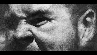 ZIMOU TAN | ART | How to draw a screaming male portrait demo.