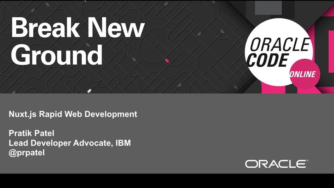 Nuxt js - Rapid Web Development